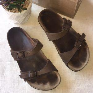 Birkenstock Birkis brown sandals Sz 39